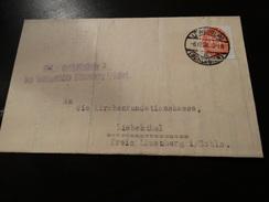 1928 - Brief Aus Lowenberg........... - Deutschland