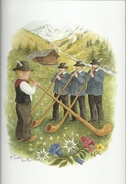 "Aquarelle Terra Vecchia - ""La Vie En Montagne"" - T - Künstlerkarten"