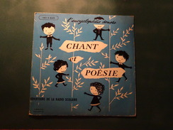 Encyclopédie Sonore, Chant Et Poésie, Répertoire De La Radio Scolaire 1960-1961, 1er Trimestre, Réf : 190 E 845, TBE - Children