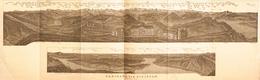 Carte Géographique: Panorama Baedeker 1907 - Panorama Vom Rigikulm - See Von Küssnacht - Carte Geographique