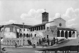 """06506 """"VILLAFRANCA LUNIGIANA (MS) - CHIESA DI S. FRANCESCO"""" ANIMATA. CART. ILL. ORIG. NON SPEDITA - Italia"""