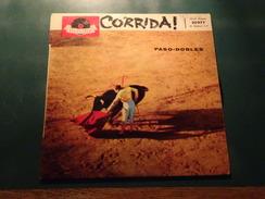 45 T, Corrida, Paso-dobles, Orchestre De La Plaza De Toros De Madrid, Ed. Polydor N° 20 977, Disque En Très Bon état - World Music