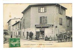 CPA 69 GRIGNY Quartier D'Arboras - Grigny