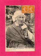 BRETAGNE, Une Bonne Pipe, Animée, Bretonne, 1922, (H. Laurent) - Bretagne