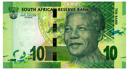 SOUTH AFRICA 10 RAND ND(2012) Pick 133a Unc - South Africa