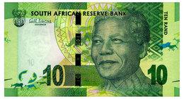 SOUTH AFRICA 10 RAND ND(2012) Pick 133a Unc - Zuid-Afrika