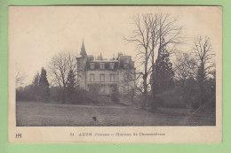 AHUN : Château De Chaussadisse . 2  Scans. Edition HM - Frankreich