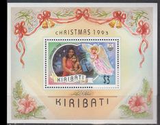 KIRIBATI      1993      BF    15         COTE      7 , 50     EUROS - Kiribati (1979-...)