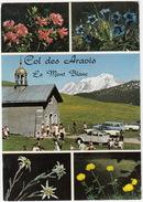 Col Des Aravis: CITROËN 2CV, RENAULT FLORIDE & CARAVELLE, FORD P3 TURNIER - Chapelle Sainte-Anne, Mont Blanc- (France) - Turismo