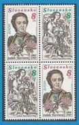 Slovaquie 1996 211 à 212 ** Paire - Europa - Botaniste Izabela Textorisova - Slovaquie