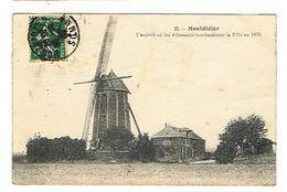 CPA 80 MONTDIDIER L'endroit Ou Les Allemands Bombardèrent La Ville En 1870 - Montdidier