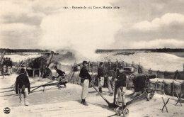 V5809 Cpa Militaire - Batterie  De 155 Court, Modèle 1880 - Militaria