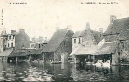 N°29672 -cpa Saint Lo -lavoir Sur La Vire- - Saint Lo