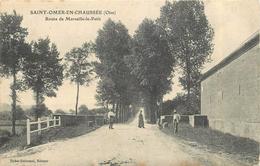 SAINT OMER EN CHAUSSÉE - Route De Marseille Le Petit. - France