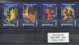 Roumanie. Centenaire De Jules Verne