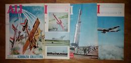 """""""ALI NUOVE""""-QUINDICINALE D'AVIAZIONE-LOTTO DI 4 RIVISTE DEL 1961-16/28 FEBBRAIO-1/15 MARZO-16/31 MARZO-16/30 SETTEMBRE - Libri, Riviste, Fumetti"""