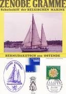 Bateau - Document Philatélique Avec Photo Véritable - Ships