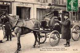PARIS : (75) Les Femmes Cochères à Paris. Madame DUFAUT Rue Claude-Bernard - Petits Métiers à Paris