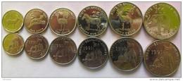 Eritrea Set Of 6 Coins 1997 (1+5+10+25+50+100 Cents)  UNC - Eritrea