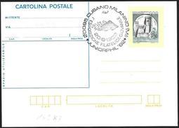 Italia/Italie/Italy: Intero, Stationery, Entier, Carro Armato Di Leonardo, Leonardo's Tank, Réservoir De Leonardo - Militaria