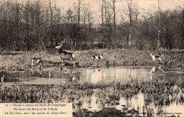 V5876 Cpa 60 Chasse à Courre En Forêt De Compiègne, Equipage Du Marquis De L'Aigle - Compiegne