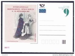 Entier Postal Tchèque Neuf 2005 BERLIN - Ansichtskarten