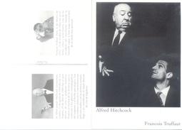 ALFRED HITCHCOCK - FRANCOIS TRUFFAUT CARTE PUBLICITAIRE ARGENTINE AN 2016 DIRECTORS OF CINEMA - Acteurs