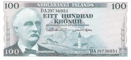 Iceland - Pick 44 - 100 Kronur 1961 - Unc - Islanda