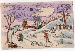 401 -  BONNE ANNEE - Paysage D'hiver - New Year