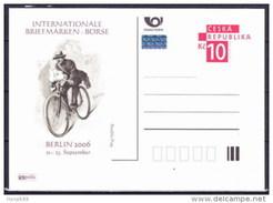 Entier Postal Tchèque Neuf 2006 BERLIN Facteur à Vélo - Ansichtskarten