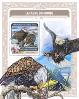 Togo 2016 National Birds Of USA S/S TG16422b - Timbres