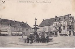 4 HENRICHEMONT                               Place Henri Iv - Frankreich