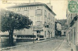 POISSY -- RESTAURANT  DE  L'ESTURGEON - Poissy