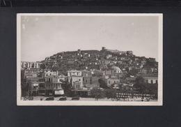 Greece PPC Cavalla Place Fouat 1938 - Grecia
