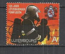 LUXEMBOURG 2009 - NATIONAL FEDERATION OF FIREFIGHTERS - USED OBLITERE GESTEMPELT USADO - Oblitérés