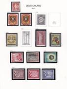 Berlin - Collection Vendue Page Par Page - Timbres Neufs **/*/oblitérés - [5] Berlin