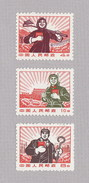 VR-China  1969  1044 - 46 ( Freimarken Kulturrevolution III )  Postfrisch  (x) - Unused Stamps