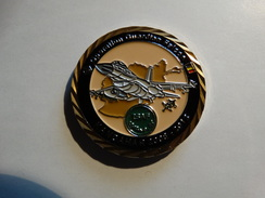 Coin ISAF Avec F16 Afganistan - Aviation