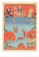 PK - Circus Cirque Artiesten Artistes -The Maeb's - Maurice En Germaine Maebe Gent - Repro Van Affiche 1930 - Artistes