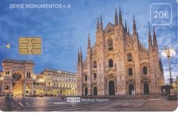 ISN-214 TARJETA DE ESPAÑA DE ISERN  DE LA SERIE MONUMENTOS Nº9 (EL DUOMO DE MILAN) ITALIA - Cultura