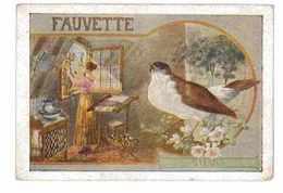 IMAGE PRENOM SYLVIA OISEAU FAUVETTE - Vieux Papiers