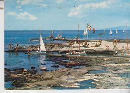 Palinuro Salerno Pontile Del Camping Francese  Vg - Salerno