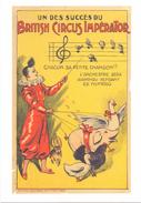 PK - Circus Cirque Artiesten Artistes Acrobaten - Clown Boby Uit Gent  - Repro Van Affiche 1910 - Artistes