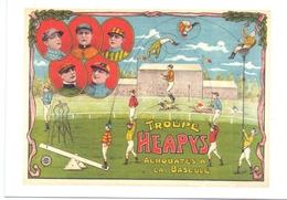 PK - Circus Cirque Artiesten Artistes Acrobaten - Troupe Heapys - Repro Van Affiche 1925 - Artistes