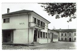 St JULIEN Sur REYSSOUZE Près Montrevel - Bureau De Postes Et Salle Des Fêtes Circulée 1961-format 9x14- 2 Scans Bon état - Autres Communes