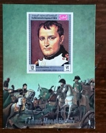 YEMEN Napoleon. N° MICHEL BF 173B Non Dentelé (imperforate) Neuf Sans Charniere **  MNH. - Napoleón