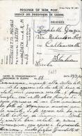 CAMPO PRIGIONIERI POW CAMP 88 STRATFIELD MORTIMER GREAT BRITAIN 1944 CALTANISSET - 1900-44 Victor Emmanuel III.
