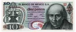 MEXICO 10 PESOS 1975 Pick 63h Unc - Mexico
