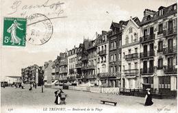 LE TREPORT  - Boulevard De La Plage - Le Treport