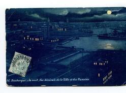 CP 29  DUNKERQUE  LA NUIT VUE GENERALE DE LA VILLE ET DES BASSINS  1906 - Dunkerque